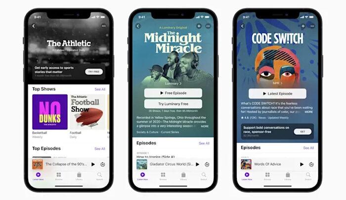 Apple открывает партнерскую программу перед запуском подписки на подкасты