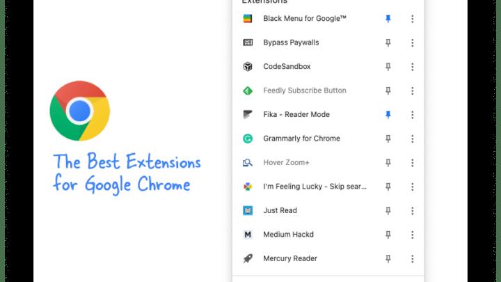 Лучшие расширения Google Chrome