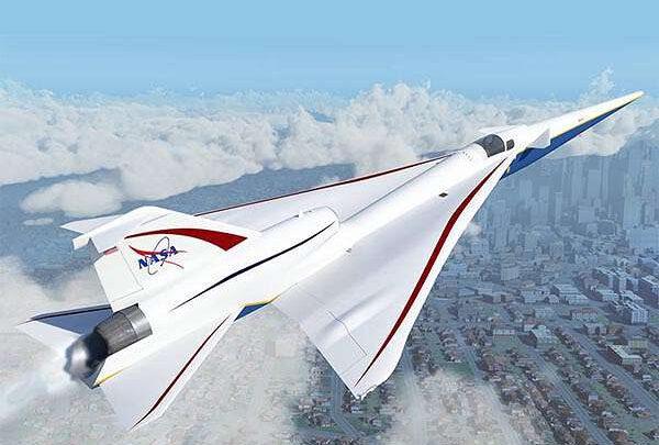 НАСА тестує систему позиціонування літака у надзвуковому польоті