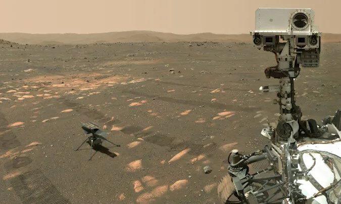 НАСА составляет больше планов полета для марсианского вертолета