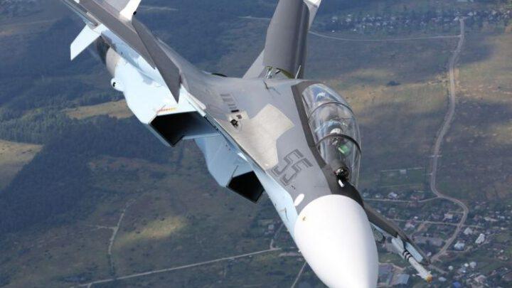 Произошел инцидент с российским Су-30СМ в оккупированном Крыму
