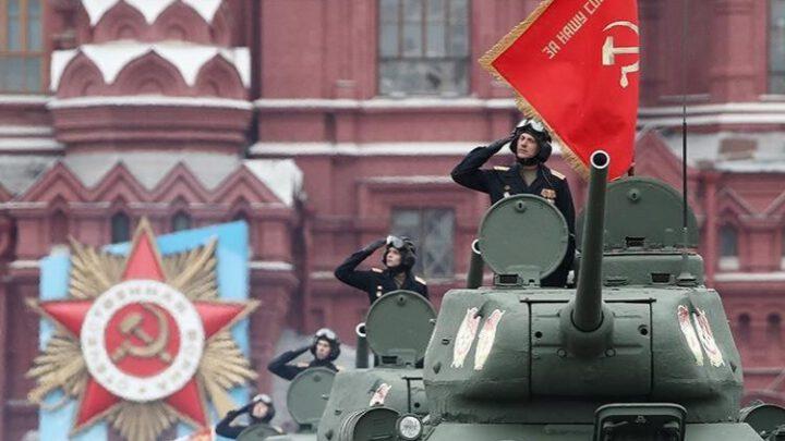 На параде в честь Дня победы Путин не упомянул о союзниках СССР