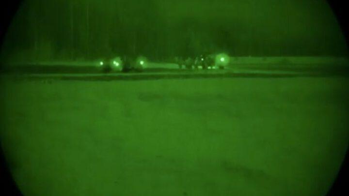 Десантники Великобритании и США выполнили массовую высадку в Эстонии