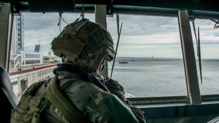Морські спецпризначенці ССО провели навчання на кораблі США