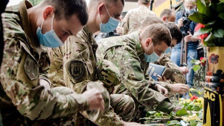 Річницю створення батальйону «Донбас» відзначили у районі ООС на Донеччині