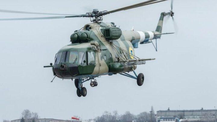 Бориспільська авіабригада отримала вертоліт Мі-8МСБ-В