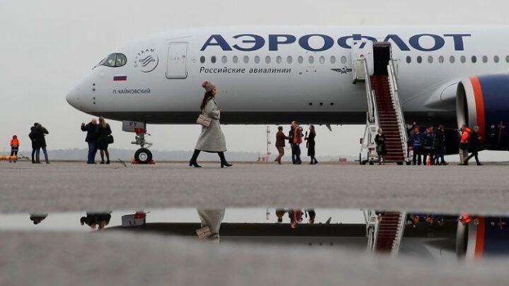 Авиакомпании России начали облетать Беларусь