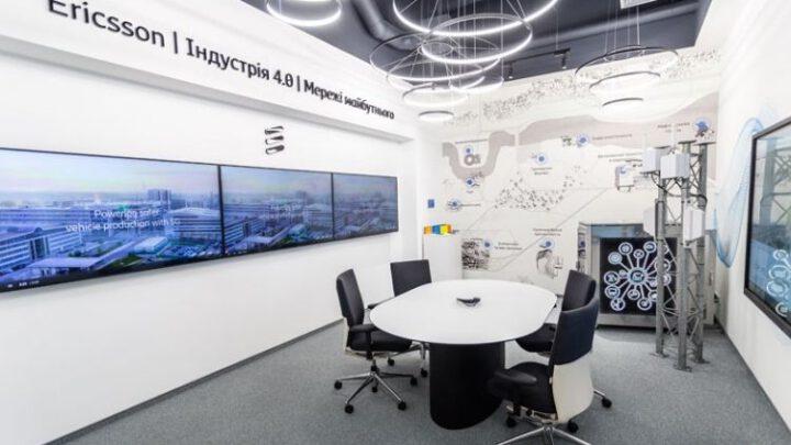 Ericsson открыл в Украине демоцентр с 5G