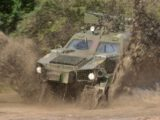 Україна експортувала до США броньовану машину «Дозор-Б