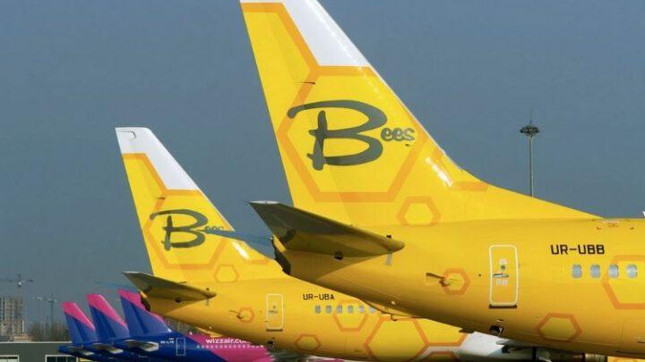 Украинский Bees Airline получил четвертый самолет в свой флот