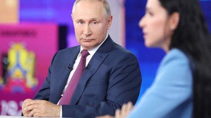«Припёрлись к нашим границам». Что Путин рассказал об Украине на прямой линии. Эксклюзив