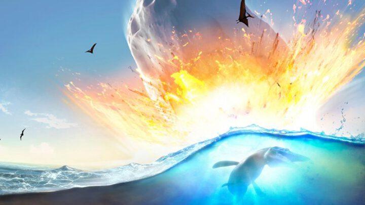 Огромное глобальное цунами последовало за столкновением с астероидом, убившим динозавров