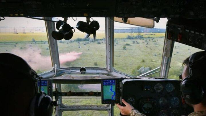 Українські та британські військові провели спільне навчання з аеромедичної евакуації