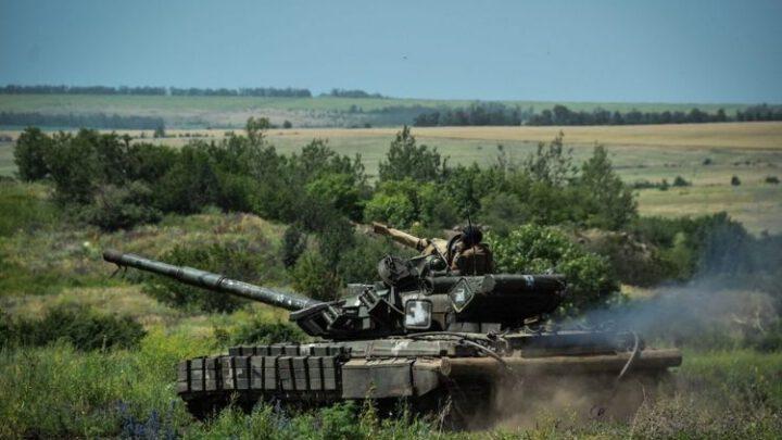 Механізовані та танкові підрозділи відпрацювали відбиття нападу противника у районі ООС