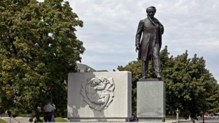 Як у Вашингтоні було відкрито пам'ятник Тарасові Шевченку