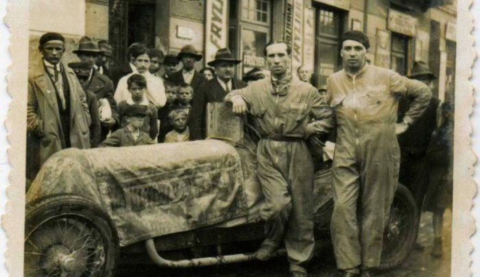 Як учасники міжнародних львівських перегонів Гран Прі добирались до Львова