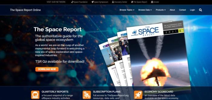 Мировая космическая экономика выросла до $447 млрд  в 2020 году, продолжая пятилетний рост