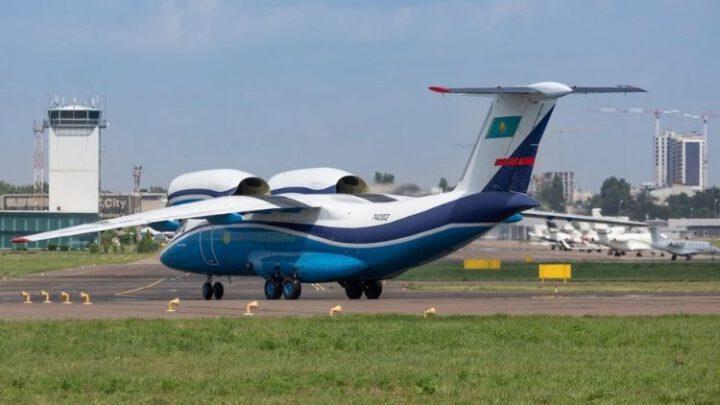 На «Завод 410 ЦА» прибув Ан-74 прикордонників Казахстану
