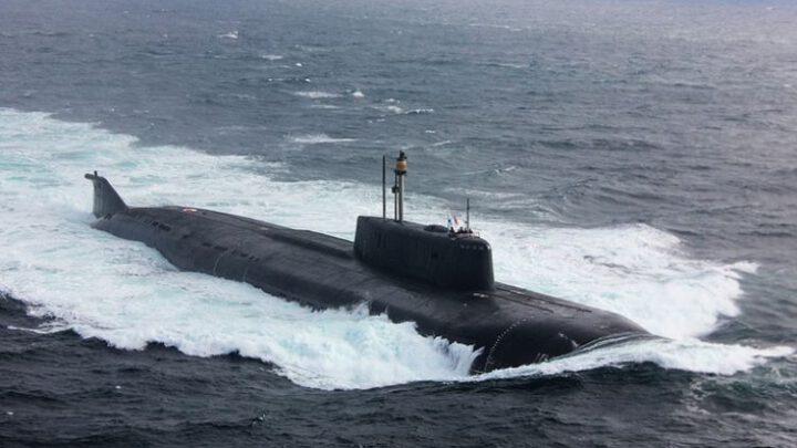 Российская атомная подлодка «Орел» потеряла ход близ датского Сейерё