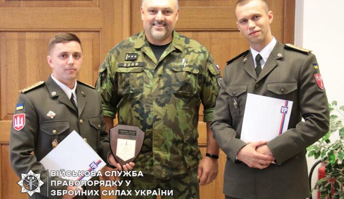 Українські військові правоохоронці ознайомилися з діяльністю Військової поліції НАТО