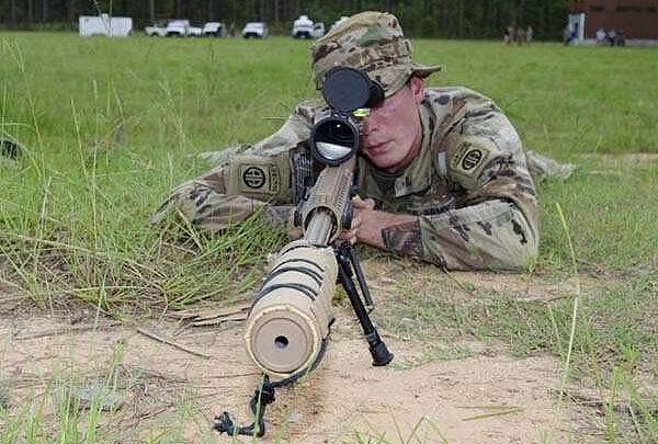 Армия США испытывает прецизионную снайперскую винтовку MK-22