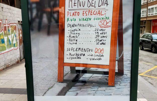 Посольство России в Испании требует убрать рекламу с «меню российских проституток»
