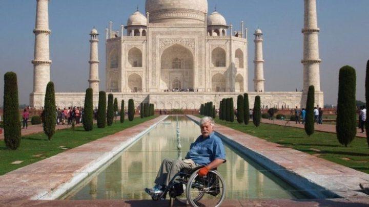 Навколосвітня подорож українця на інвалідному візку
