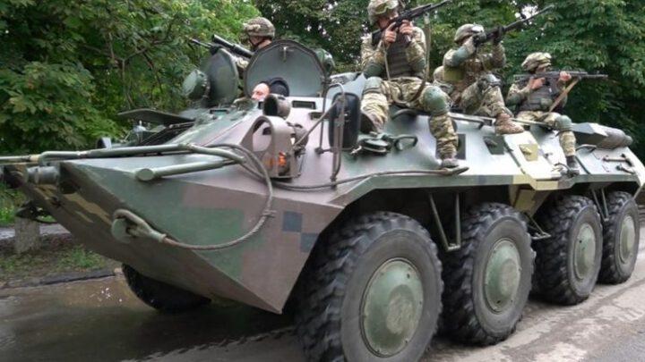 «Крилаті піхотинці» відпрацювали на межі з Кримом знешкодження диверсійно-розвідувальних груп
