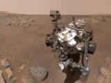 «Упорство» делает селфи на Марсе