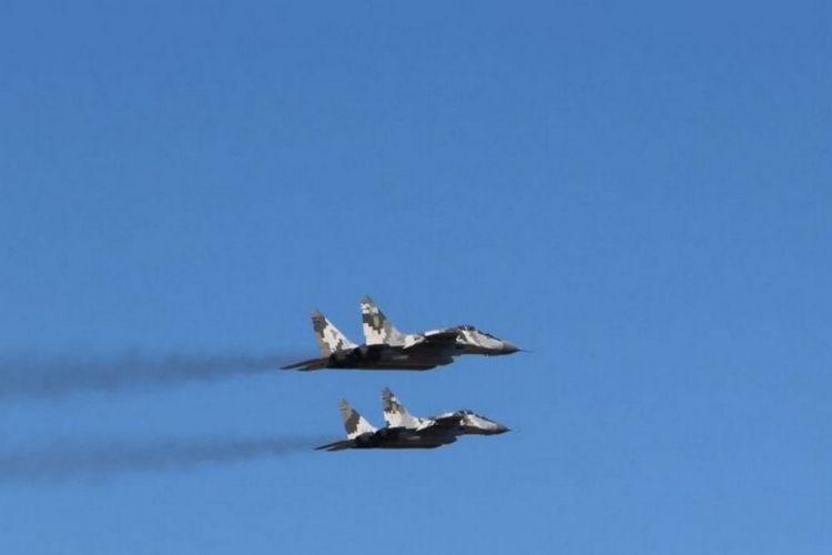 Літаки МіГ-29 на Волині готові до ведення повітряного бою вдень та вночі
